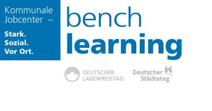 Logo Benchlearning der Kommunalen Jobcenter