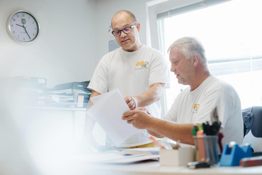 Roger Schöppe, Dirk Stratmann, Haustechnik Stratmann